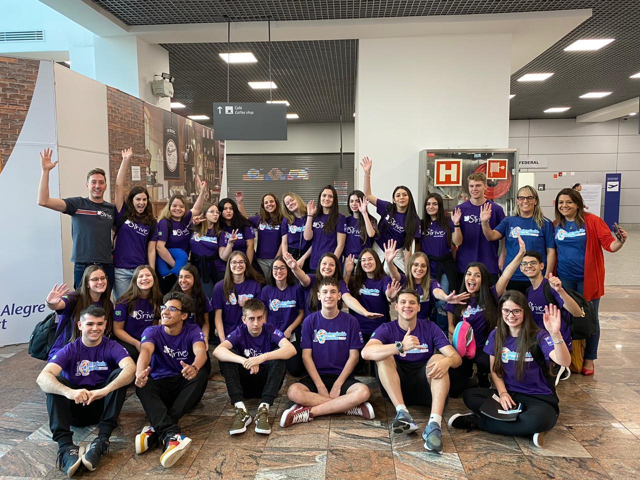 Estudantes bilíngues conhecem a Austrália na última semana de intercâmbio